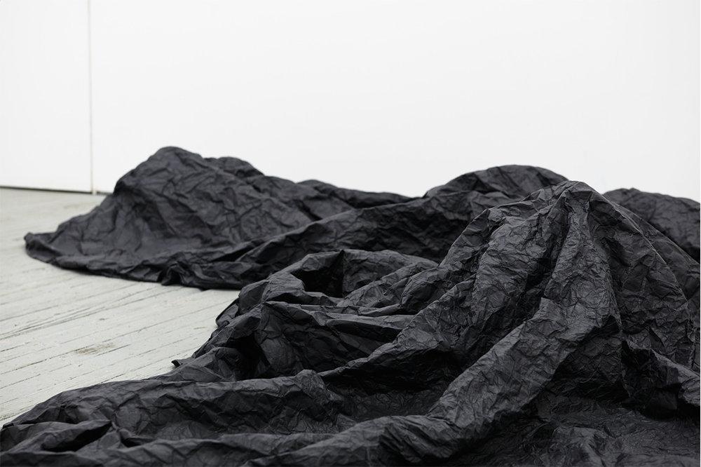 La Mancha Negra II , detail