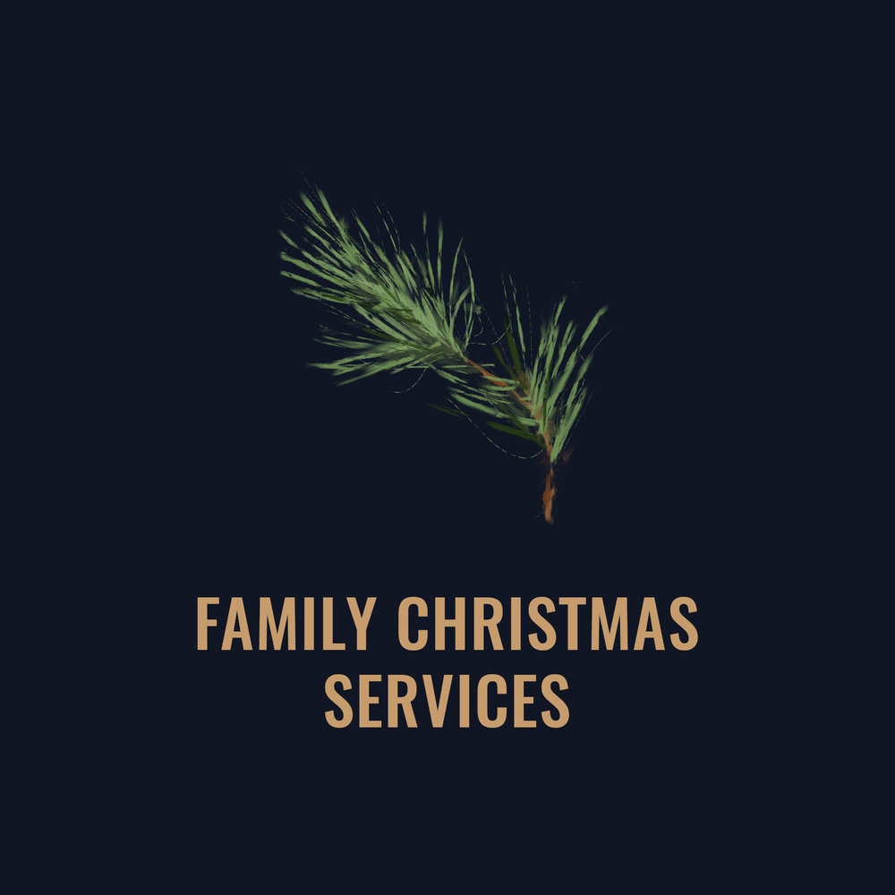Sunday 23rd Dec,  9.30 & 11.30am at CCV   Family Christmas Services with lots of fun for all ages! (no kids/youth environments)