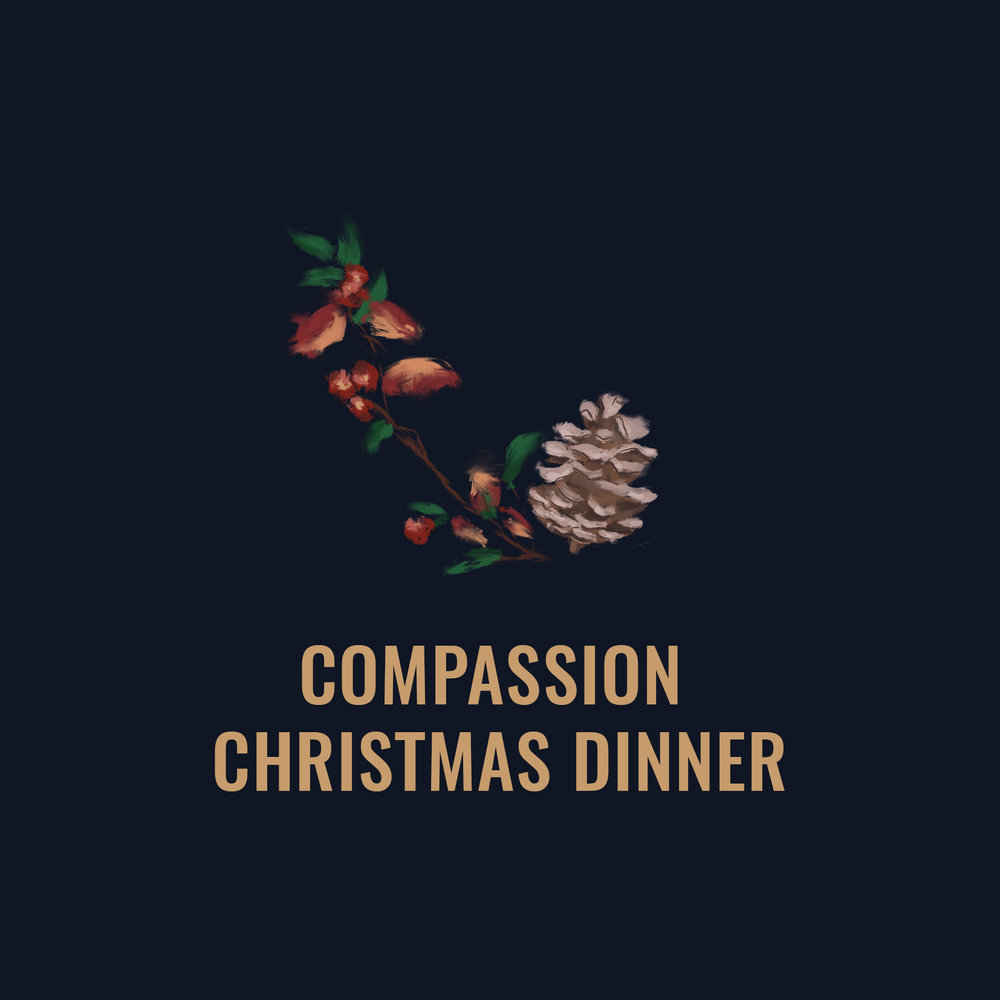 Christmas Day, 11.30am-2pm at CCV   Celebrate Christmas day with a free five-course meal, gifts and special guest. Find out more or sign up by contacting the Hope Centre office on 028 7022 0005.