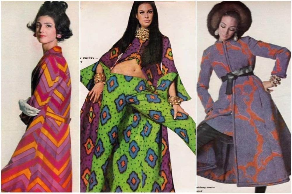 Some of De La Renta's earliest designs