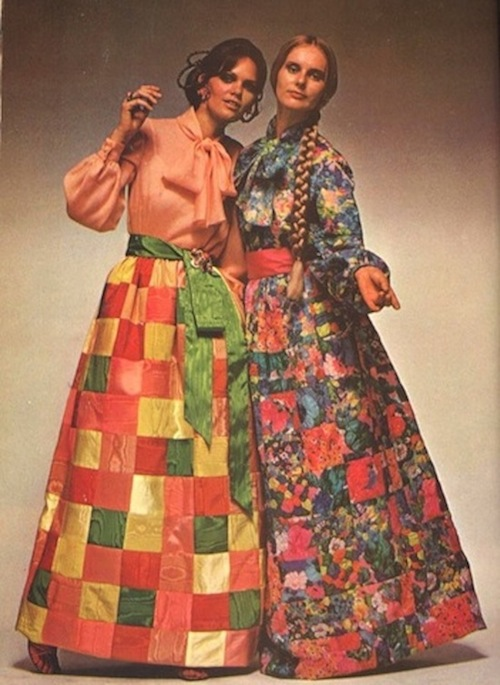 A traditional 1970s Maxi in Vogue.
