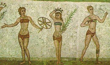ancient bikinis