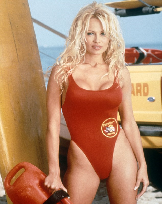 Pam Anderson Baywatch style