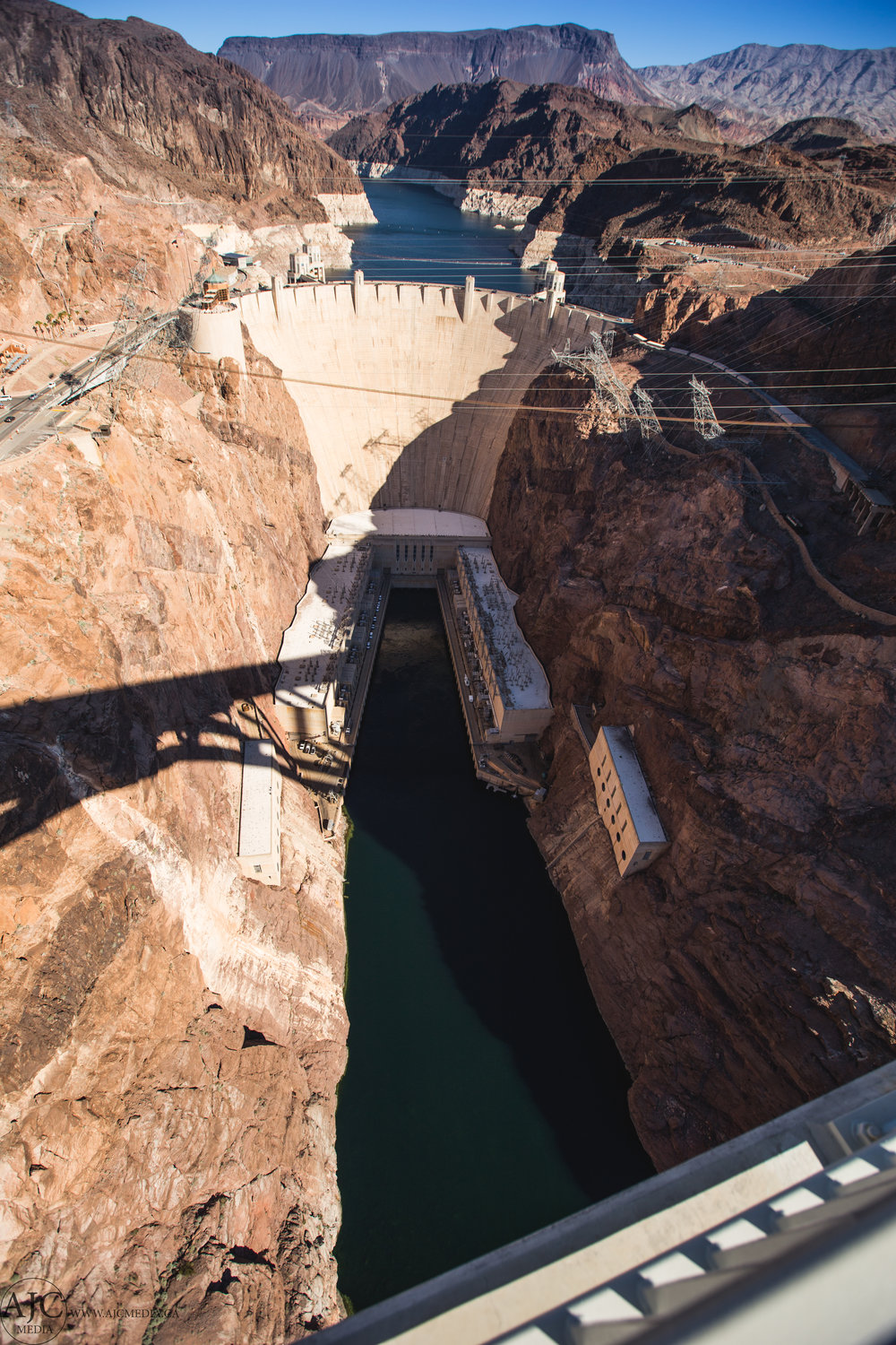 Probably the most common shot of the Hoover Dam