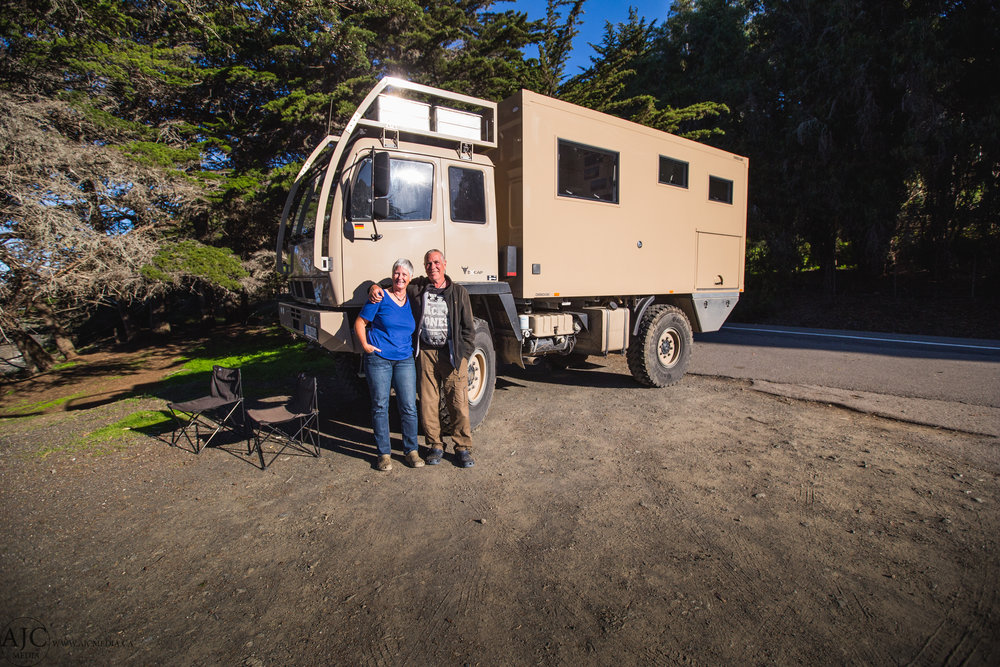 These two are one of those couples that we look up to. Their overlanding game is strong.