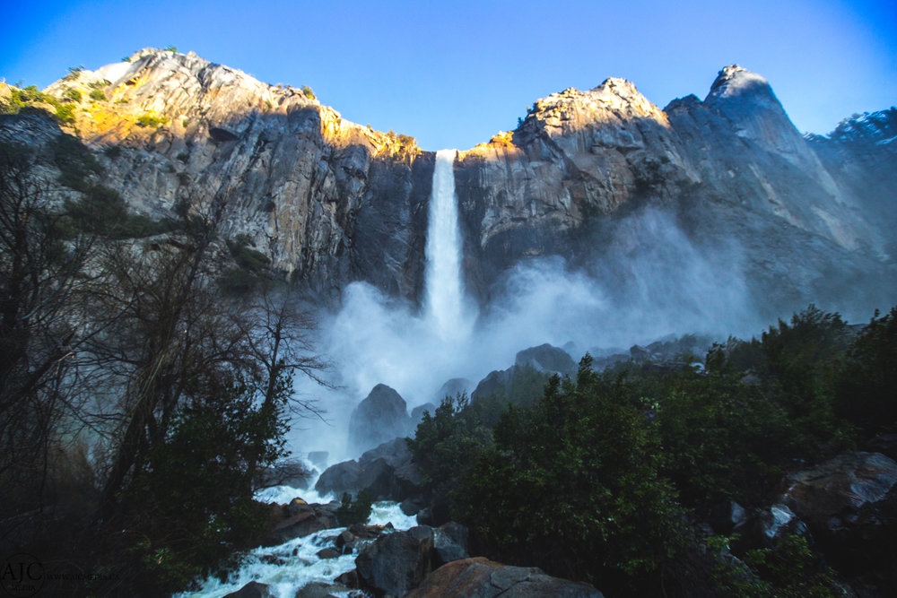 Bridalveil Falls, Yosemite Valley, CA