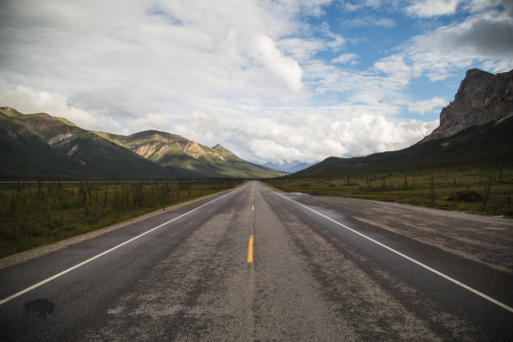 I...just...can't get over these views.  Interesting fact, a lot more of the Dalton Highway has been paved since the last time I drove it, I'd imagine in a few more years the Dalton could be completely paved.