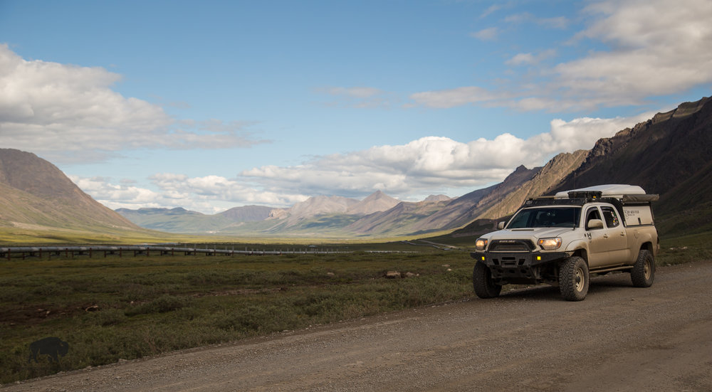 Driving the Dalton Highway is always a special treat, it's a magical place to travel through.