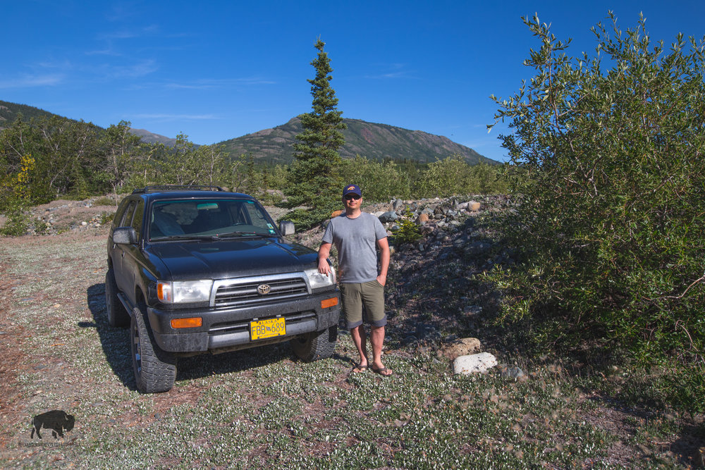Mr Brodie and his 4runner.