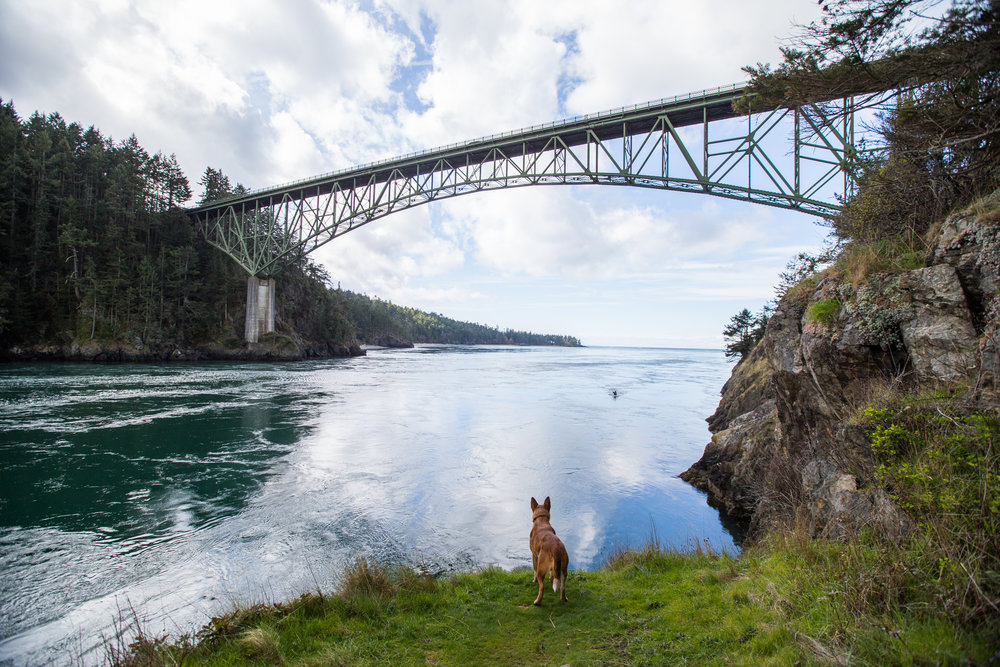 Deception Pass, Washington.