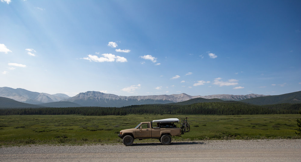 At this point I had shed the company of friends and forged my own path in the Alberta wilds. Highway 40 did not disappoint and I reckon I'll be seeing a lot more of it in the future.
