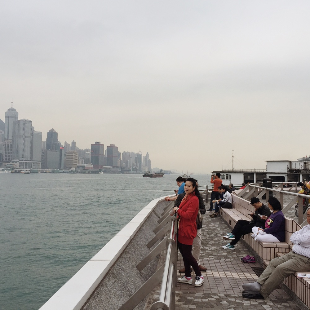 Kowloon waterfront