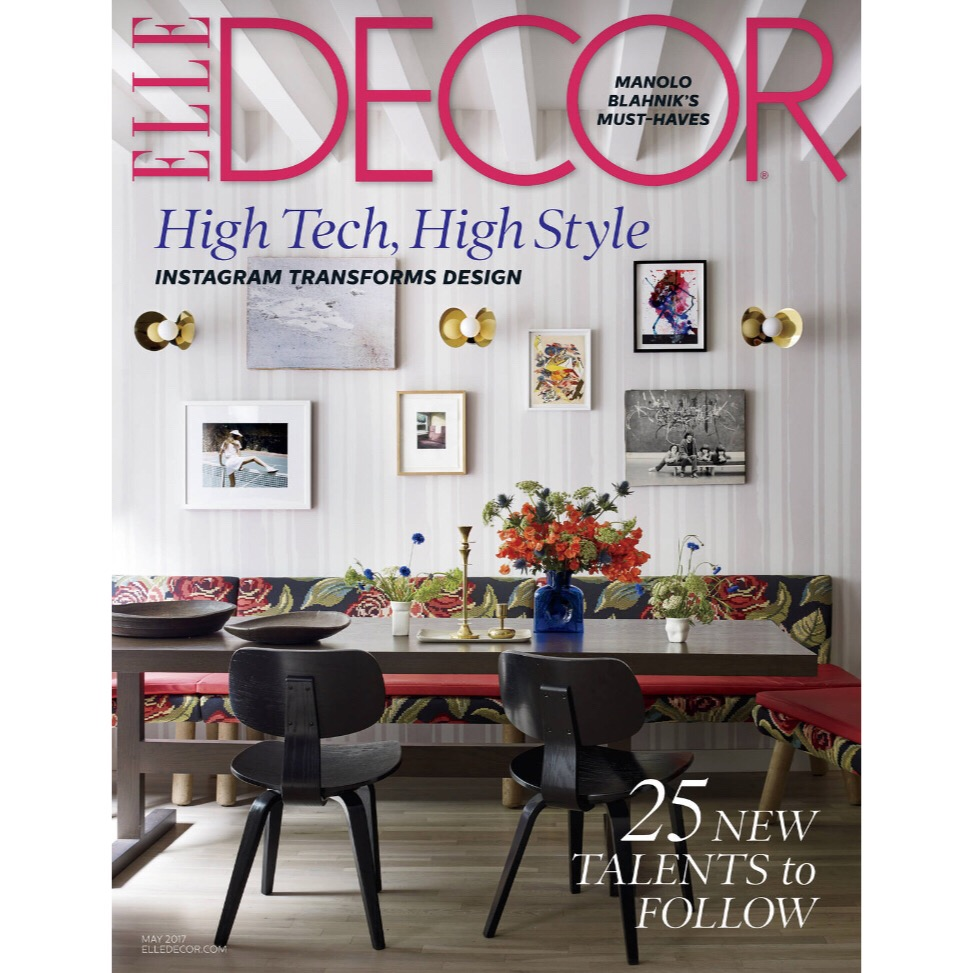 Elle Decor, May 2017
