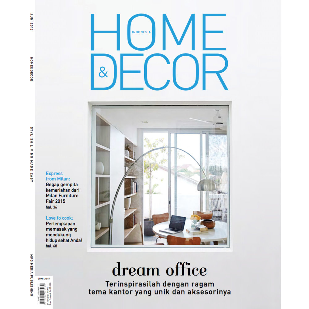Home & Decor Indonesia, June 2016
