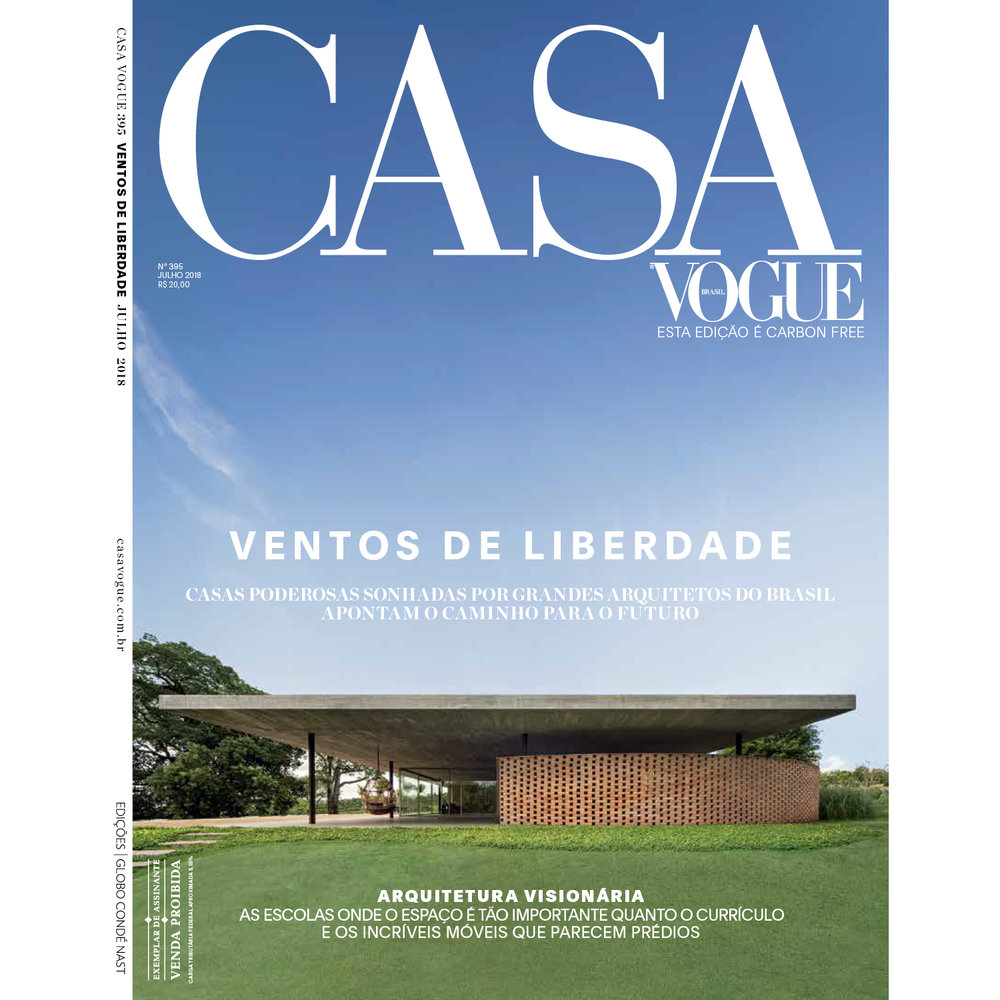 Casa VOGUE Brazil, July 2018