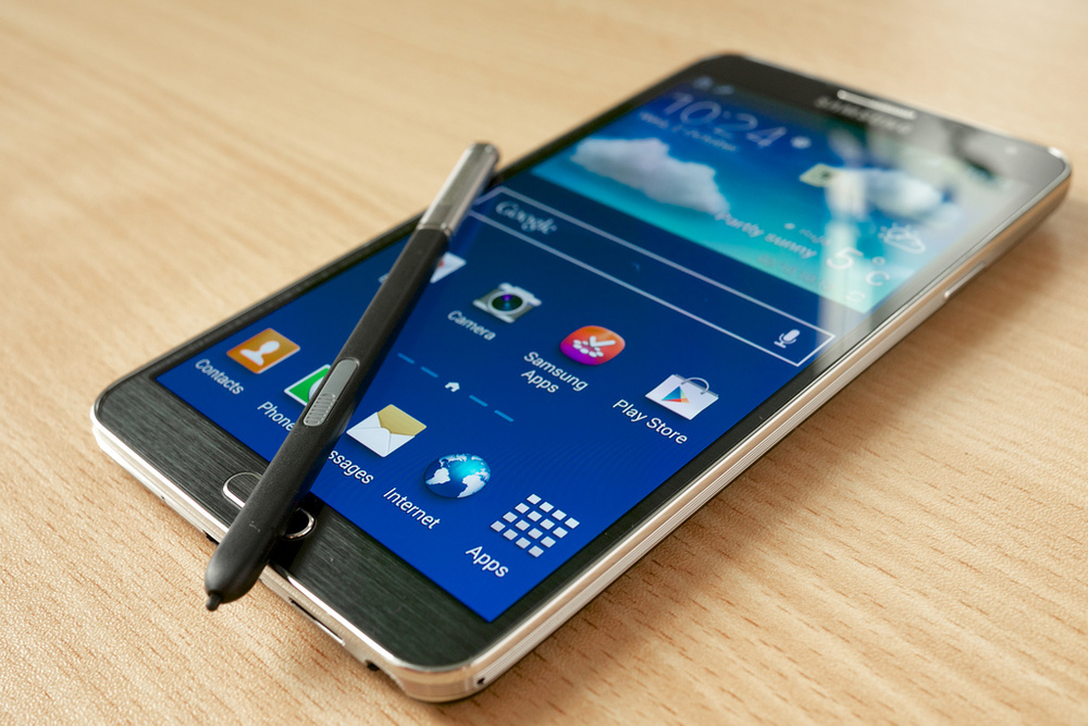 Samsung The Galaxy Note 4 And The Gear Vr Headset Quadratek