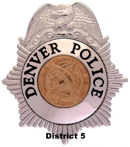 Denver Police District 5 Logo