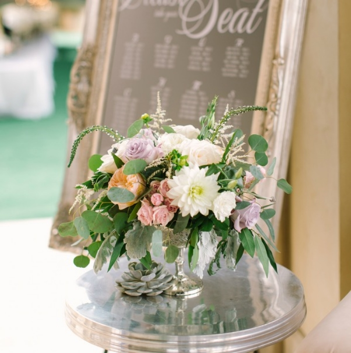 posh floral mint photography desiray compote - Accent Decor