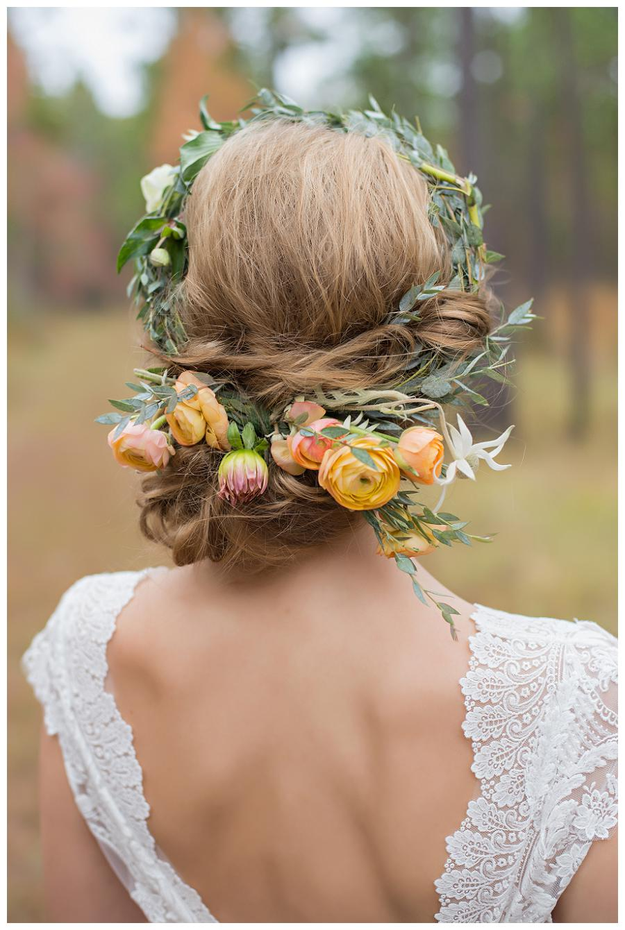 Thorne & Thistle and Heather Durham Photography flower crown