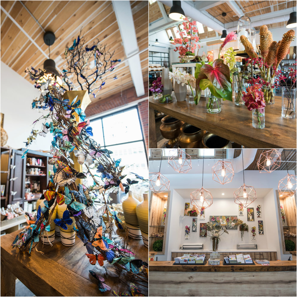 Stacy K Floral's new 2500 square foot location on Russell Street in Rochester, NY  (Images courtesy of  Freshedge Photography )
