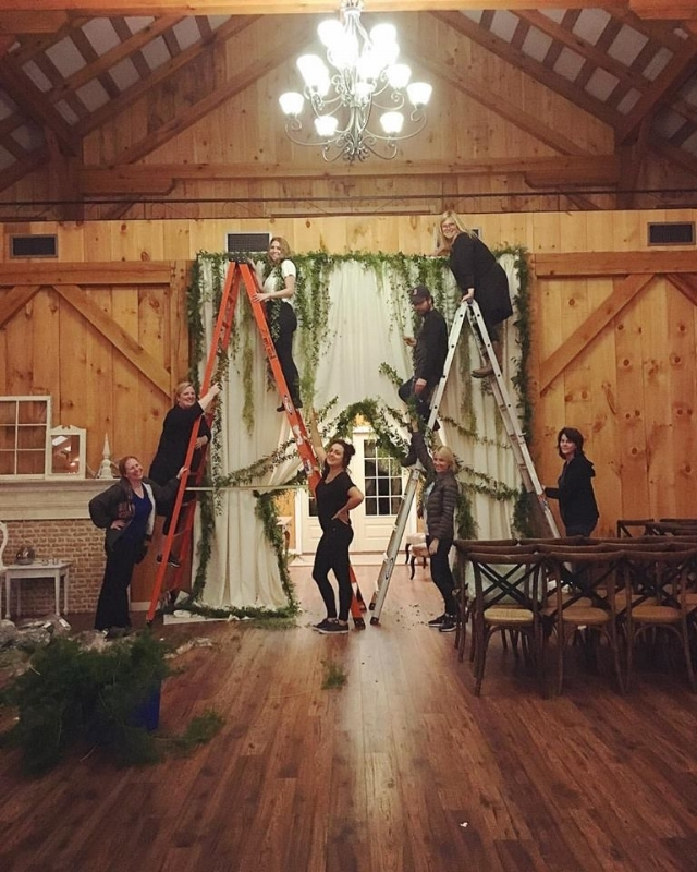 The Chapel Designers Collaboration @aliciajayneflorals @trueflorette @andreakgristfloralart @jaysonmunndesign  helping Holly.jpg
