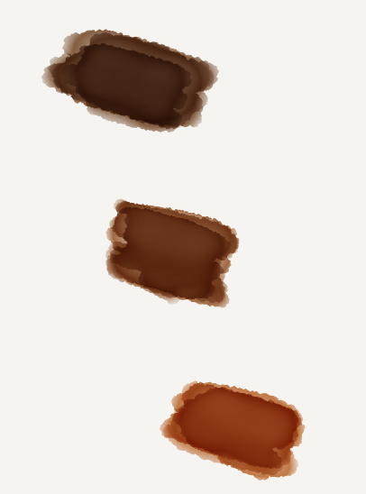 Example of skin color values