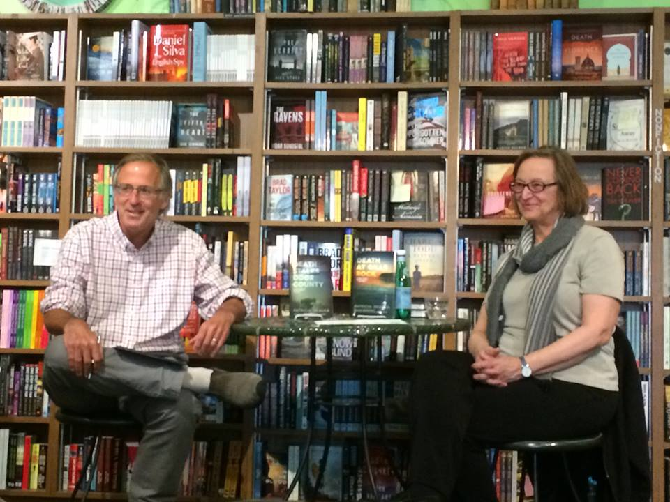 Interviewed by Doug Moe at Mystery to Me Bookstore in Madison, May 2016.