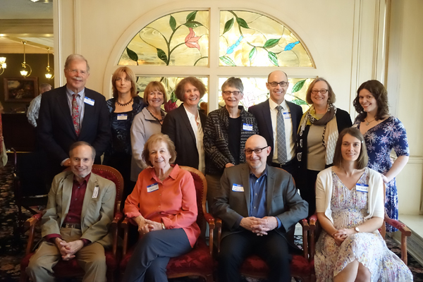 2017 Wisconsin Writers Award Winners at the Council for Wisconsin Writers Awards Banquet in Milwaukee, May 2017.