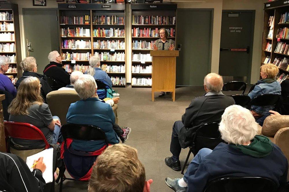 Boswell Books, Milwaukee WI, 2018