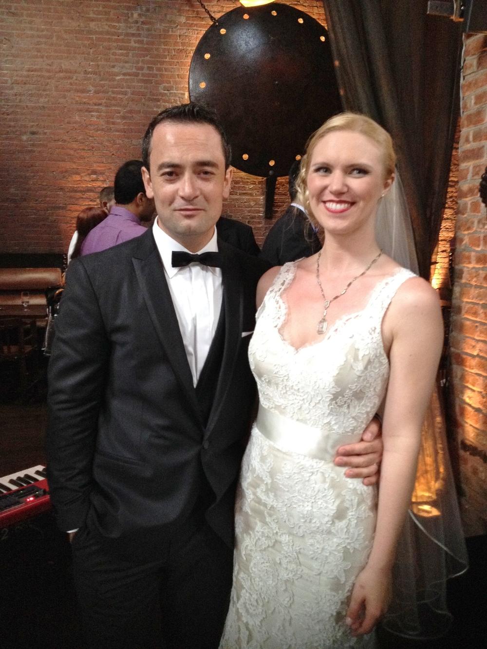 Jessica And Turguys Irish Turkish Wedding At My Moon Long Island Officiant Certified Celebrant