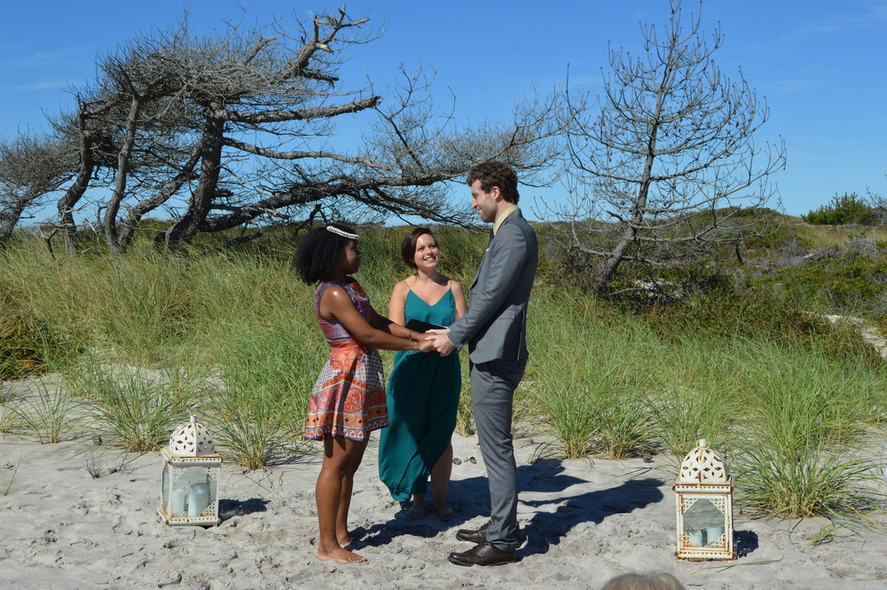 Andy And Geri's Emotional Oceanside Elopement At Smith