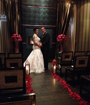 Lukasz And Krystynas Romantic Wedding At Insignia Steakhouse