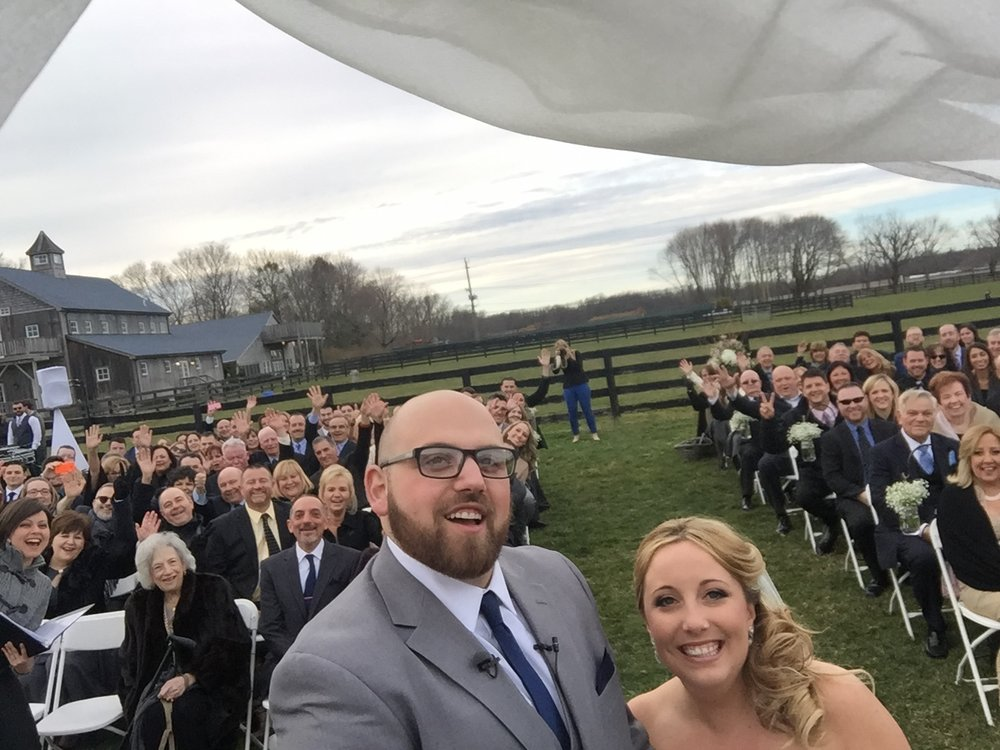 selfie by Katie & Dale