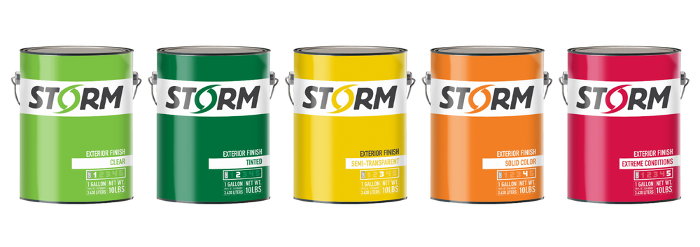 Storm Stain Rebranding and Packaging