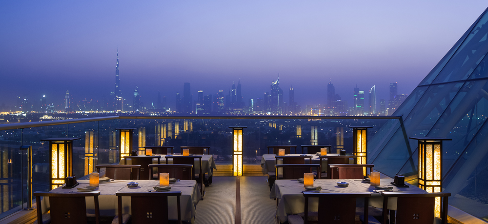 Dubai Restaurant Skyline