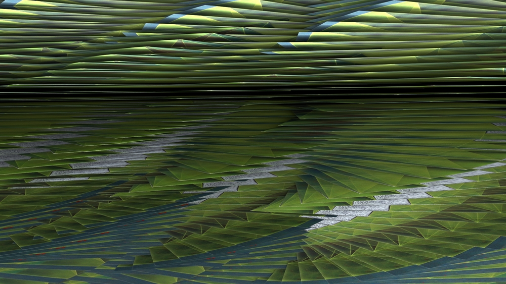 Elevation no. 13, digital image rendered with 3D modeling software, 2014