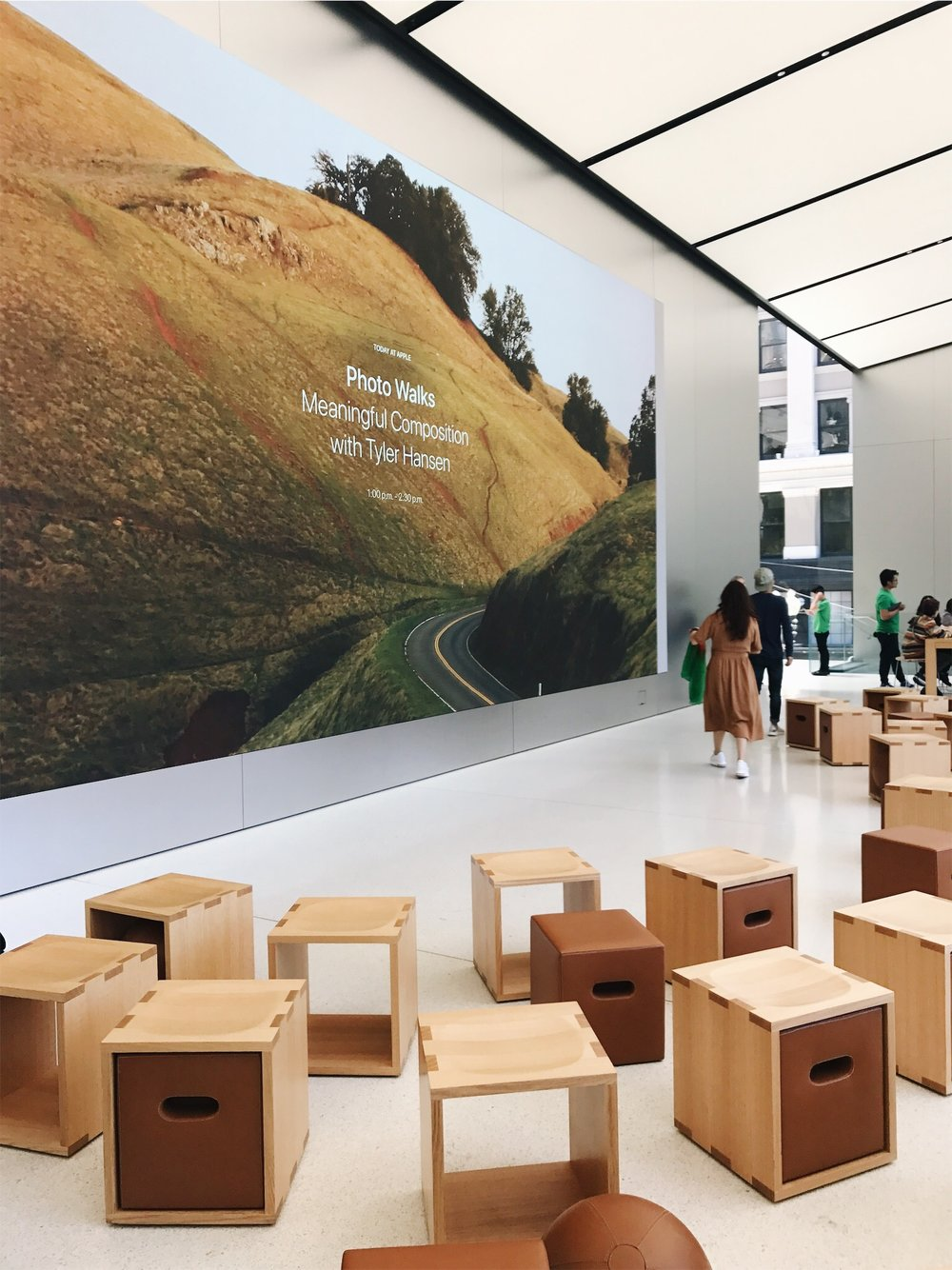 Apple – #todayatapple - I discovered talent from the VSCO community to host Apple events at 50 locations around the world to launch the 'Today at Apple' program. This included coordinating the events, gathering and organizing all assets, and being the point of contact between creators and the Apple team.