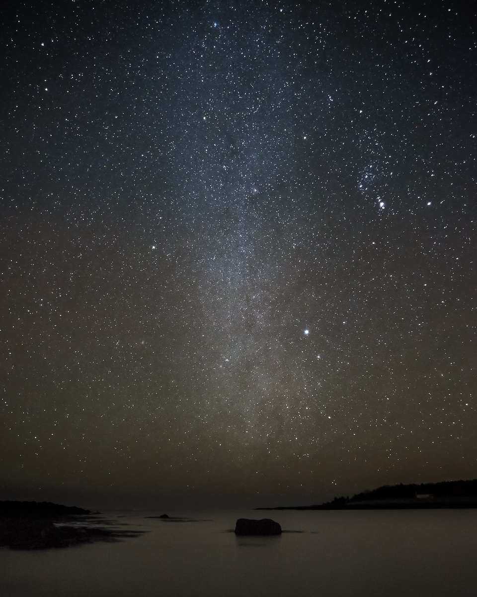Milky Way Over Curtis Cove