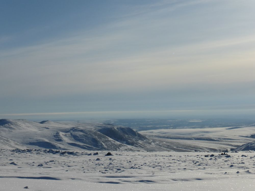 Looking north, where I spent last week on ice roads, in storms and with the kindest people I have ever met.