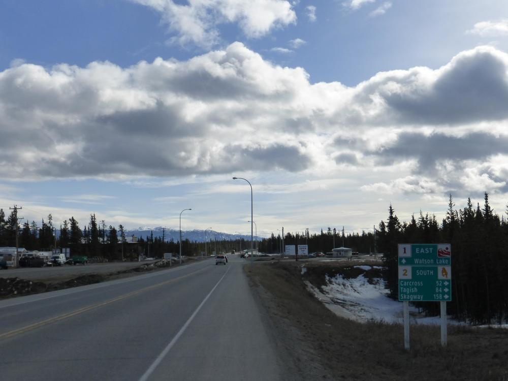 Why not a scenic route detour to Carcross?