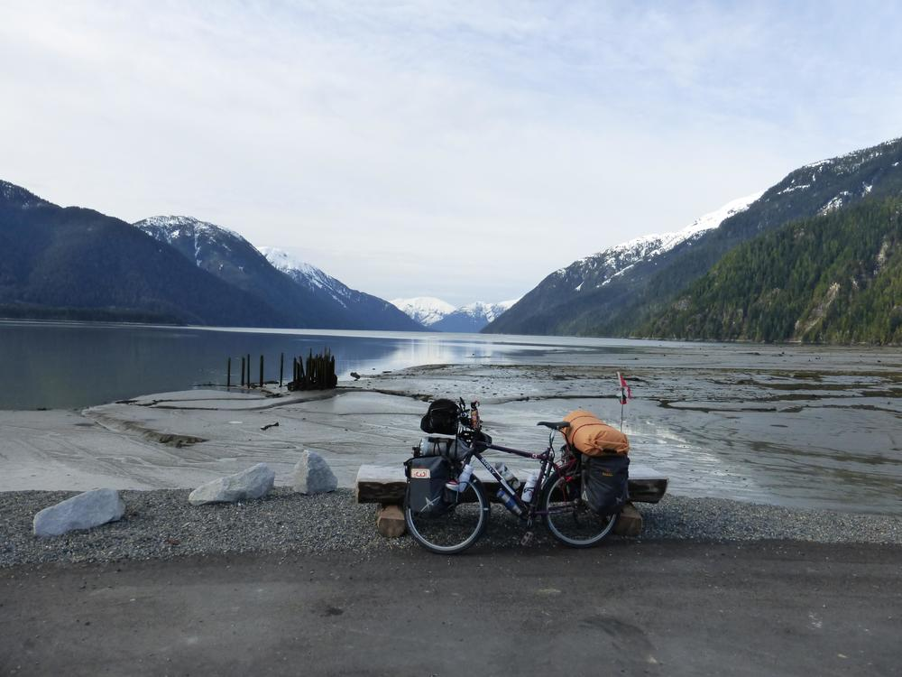 Alaska and the Pacific Ocean, if I decide not to go to Alaska in August, I still passed through a part of it. If I take the continental divide bike route, I will not see the Pacific for at least 2-3 months.