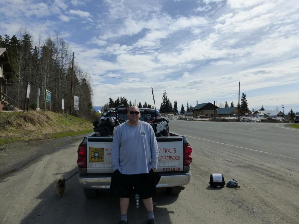 Jason , who took me back to the Cassiar Highway