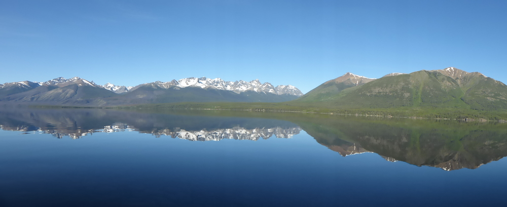 Perfect lake, Chilko Lake