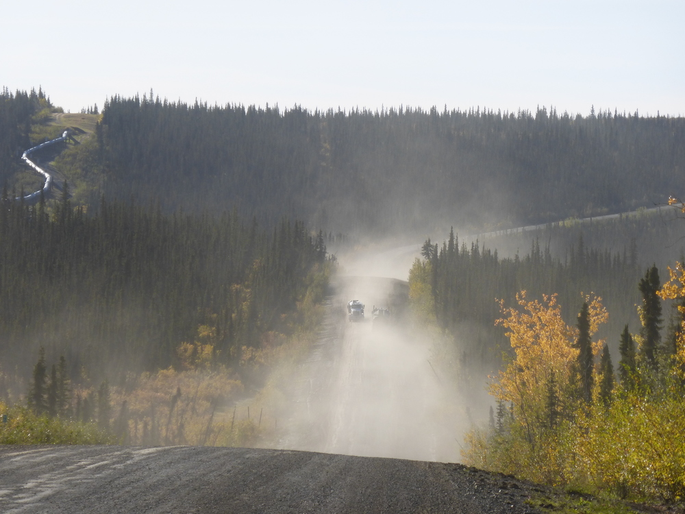 The Haul Road (Dalton Highway), Alaska