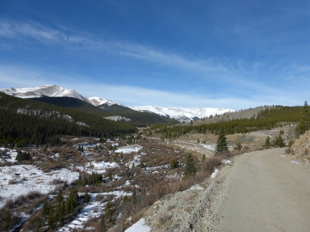 Descending Boreas pass