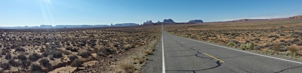 The spot where Forrest Gump stopped running and where I began my backpacking trip 10 days ago!