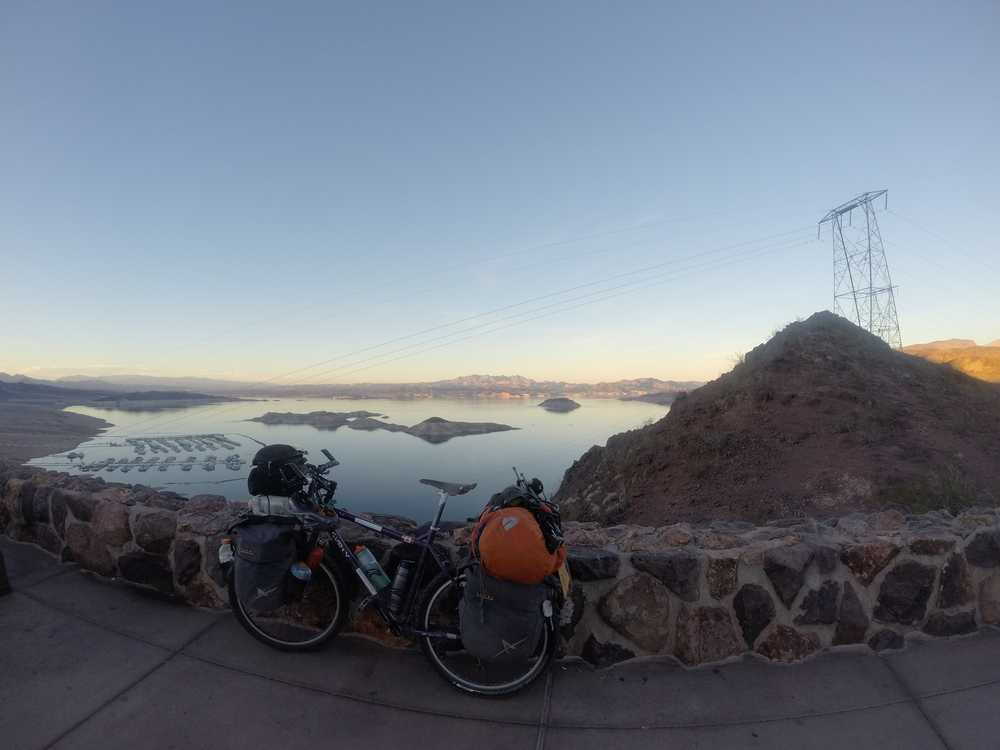 Overlooking Lake Mead