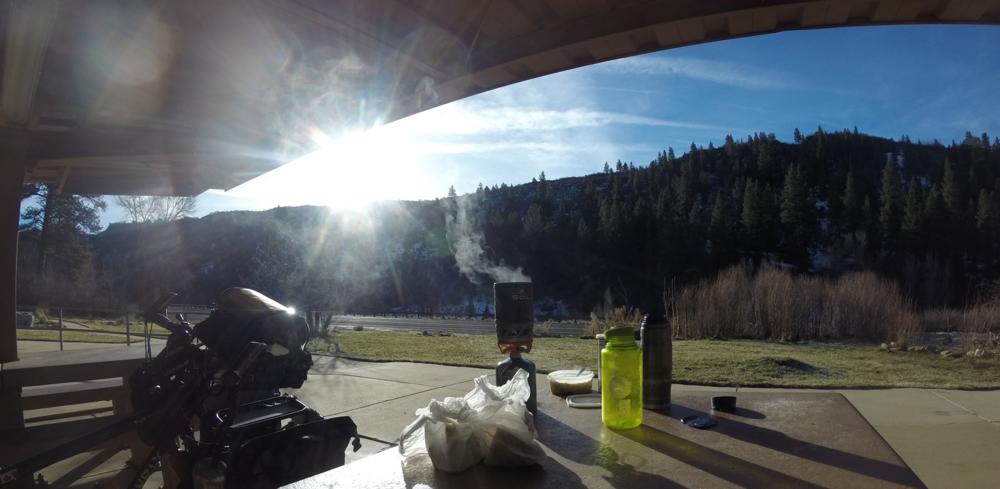 The Jetboil SOL in Utah