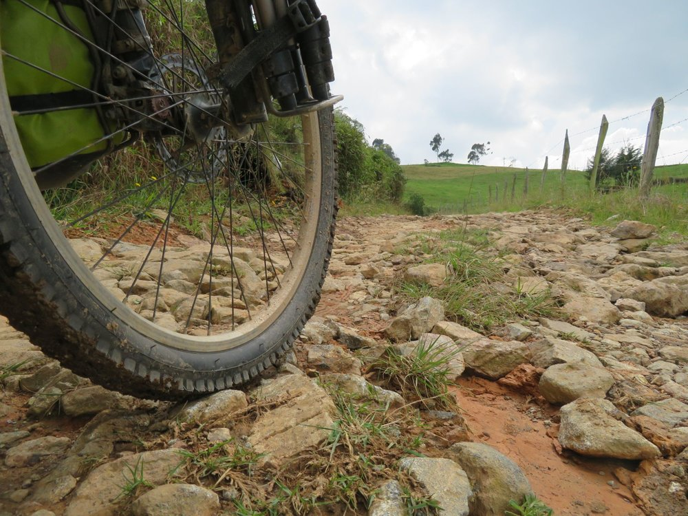 Colombia Dirt Road Warriors Bike Wanderer