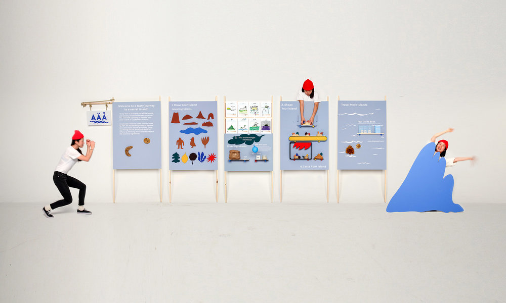 Helsinki Design Week: t he exhibition  provided a visual overview of the whole project process.